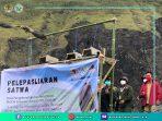 BKSDA Sulut Lepasliarkan Elang Paria dan Ular Sanca Lembang di Cagar Alam Lakon