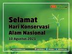 Selamat Hari Konservasi Alam Nasional (HKAN), Kita Jaga Ekosistem Indonesia