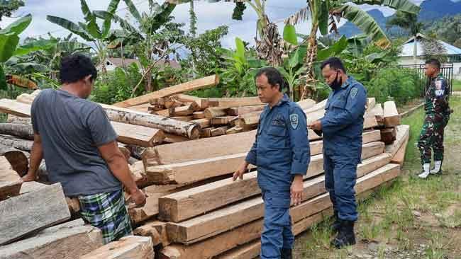 Rampung, Berkas Perkara Kasus Industri Pengolahan Kayu Ilegal di Sulbar